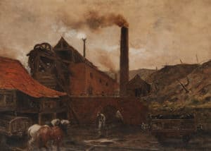 """Scorched Earth: Belgian Artists and the Industrial Landscape"": Lecture by Sura Levine @ McMullen Museum of Art, Boston College 