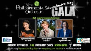 New Philharmonia Orchestra's 25th Season Anniversary Gala @ First Baptist Church in Newton, | Newton | Massachusetts | United States