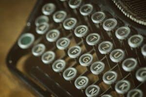 Typewriter Poetry @ Newton Free Library | Newton | Massachusetts | United States