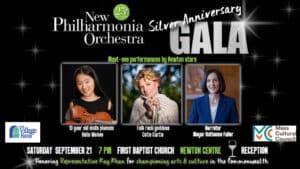 New Philharmonia Orchestra's 25th Season Anniversary Gala @ First Baptist Church in Newton, | Newton | Massachusetts | United States